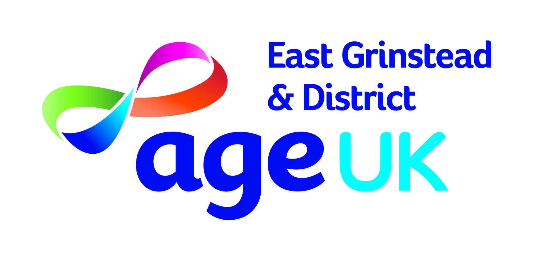 logo for Age UK East Grinstead & District at Glen Vue Centre