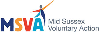 Mid Sussex Voluntary Action (MSVA) Logo